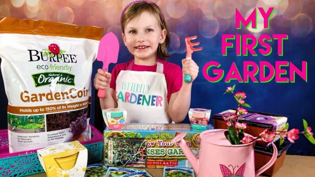 Gardening For Kids – Spring Planting – My First Garden!