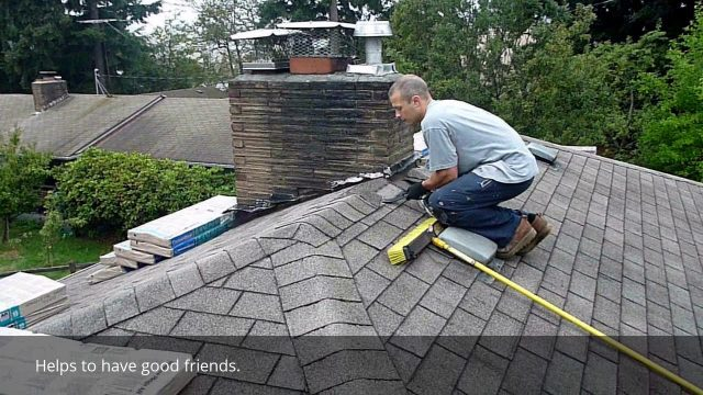 DIY shingles over existing roof