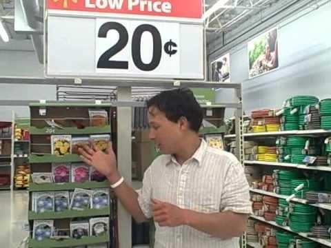 Grow a Vegetable Garden for 20 Cents or Grow an Organic Garden for $1.50