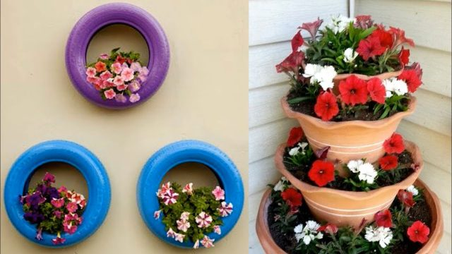 Garden decoration Ideas Home made 2018