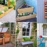 80+ Creative Ways to Upcycle Pallets in your Garden   DIY Garden