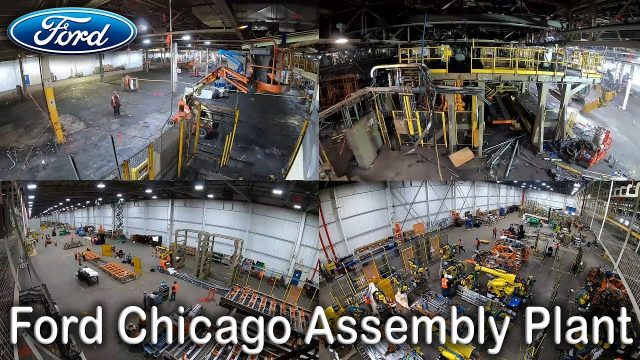 Ford Chicago Plant –  Changeover Timelapse