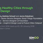 Creating Healthy Cities through Service Design