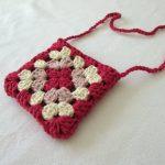 VERY EASY crochet granny square purse / bag tutorial