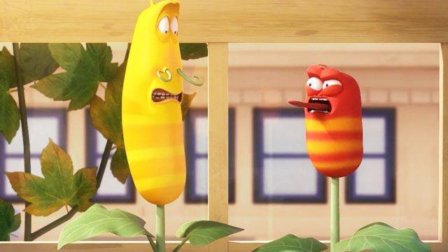 LARVA – GARDENING | Cartoon Movie | Cartoons For Children | Larva Cartoon | LARVA Official