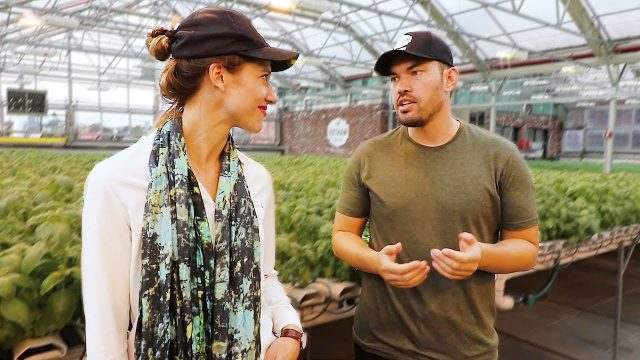 EPIC Urban Farming On Top of a Whole Foods | Gotham Greens Tour ️