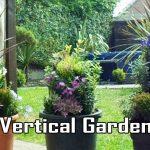 Vertical Garden, Raised Multi-tier Used Plant Pot Tower Planters, Gardening Ideas