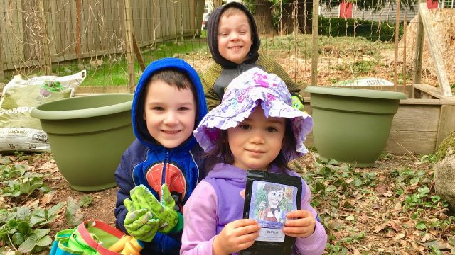 Gardening With Kids & Subscriber Giveaway!