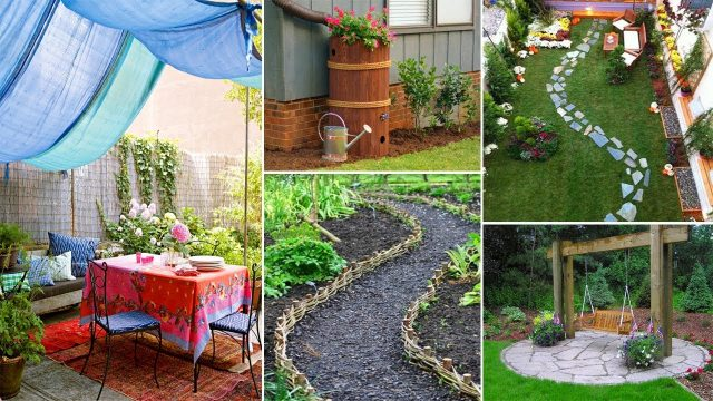 Easy and Creative DIY for Backyard ideas on a Budget | Garden ideas