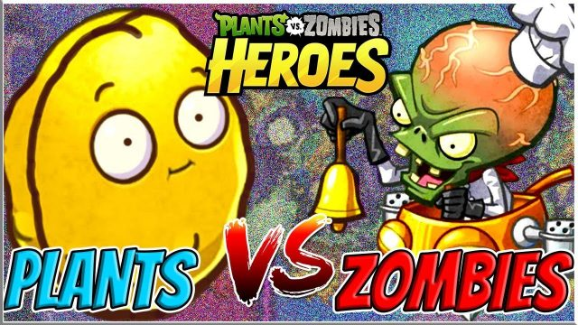 Gargantuar's Feast vs Wall Nut Bowling – Plants vs Zombies Heroes Epic MOD