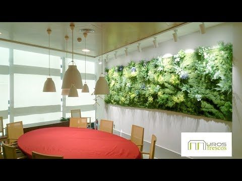 Muros Frescos, Jardineria vertical sintética.