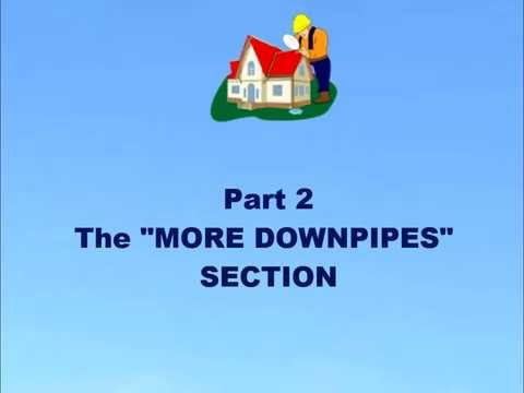 "How to use the ""More Downpipes"" section of the roof gutter calculator"