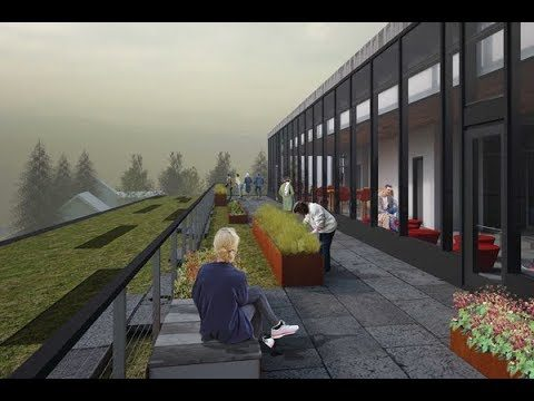 A Green Roof for Beauty, Function, and Education