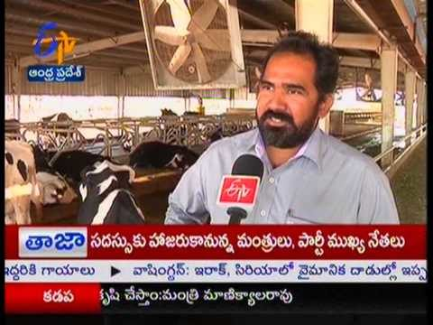 Advanced Milk Dairy established in Kattangur of Nalgonda – జైకిసాన్ – on 23rd January 2015