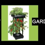 Upside Down Garden Tower Patio Planter Strawberry Plants Tomatoes Herbs Small Space Container