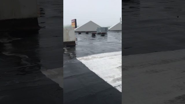 TPO recover – initial roof assessment