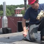 Flat Roof Installation Over Tar and Gravel – most effective recover roofing system