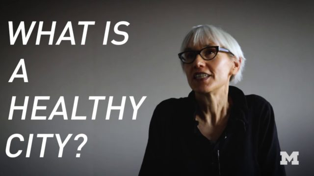 Building Tomorrow | Ann Forsyth – What is a Healthy City?