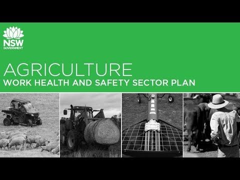 SafeWork NSW Agriculture Work Health and Safety Plan