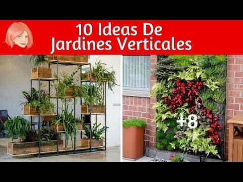 10 Ideas de Jardines Verticales Que Querrás Hacer Hoy Mismo Para Tu Casa ¡Te Fascinarán!