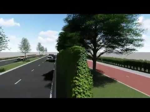 Greenwall Geluidsschermen | 3D Animatie