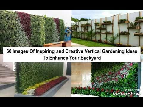 60 Images Of Inspiring and Creative Vertical Gardening Ideas To Enhance Your Backyard