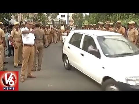 IT Dept And Govt Officials Visits Jayalalithaa's Poes Garden Residence | Tamil Nadu | V6 News