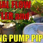 Aquaponics Design | Pump Pipework & Solids Settler