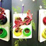 wall frame planter/living wall garden/wall mount planter/ORGANIC GARDEN