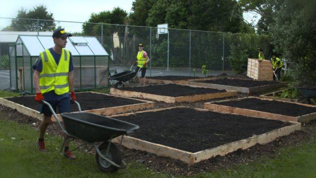 OKE Charity builds garden in South Auckland schools