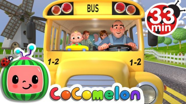 Wheels on the Bus | +More Nursery Rhymes & Kids Songs – CoCoMelon