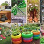 100 Ways to Recycling for Garden Ideas | DIY Garden