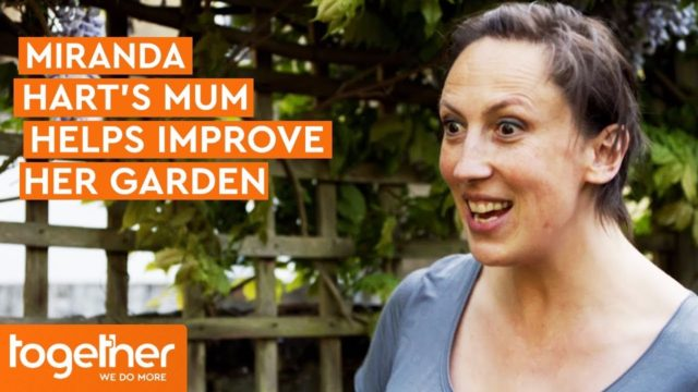 Miranda Hart Attempts To Learn How To Garden With Her Mum!