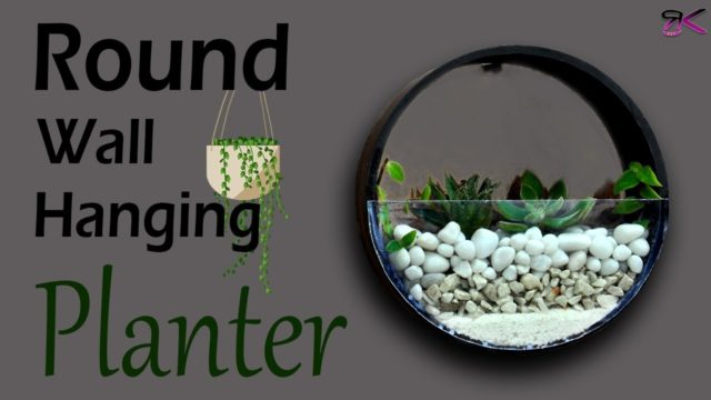 How to Make a Succulent Planter with PVC Pipe (plant wall decor easy)