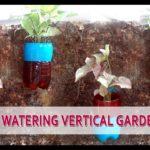 How to Make A Self watering Vertical Garden DIY