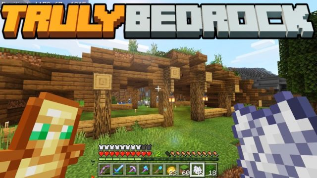 What is TB Money? & The Grass Roof Animal Barn – Truly Bedrock – S1 E3 – Minecraft SMP [1.11]