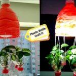 8 Wall Hanging Indoor Gardening/Tree Plantation with Plastic Bottles | Hanging Tree Pot /Vase DIY