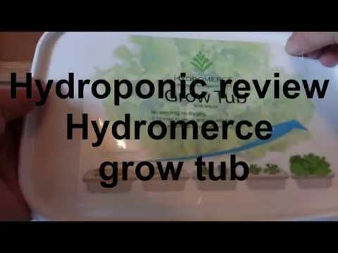 Hydroponic review Hydromerce grow box, indoor gardening growing kits