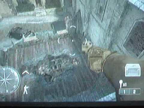Call of Duty 3 On Top Of Brown Roof Glitch Rouen ps2