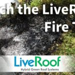 Fire Test on Green Roof: LiveRoof Modules