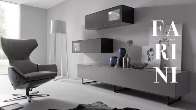 Contur Farini – so schön kann Stauraum sein als Kommode, Sideboard oder Wohnwand