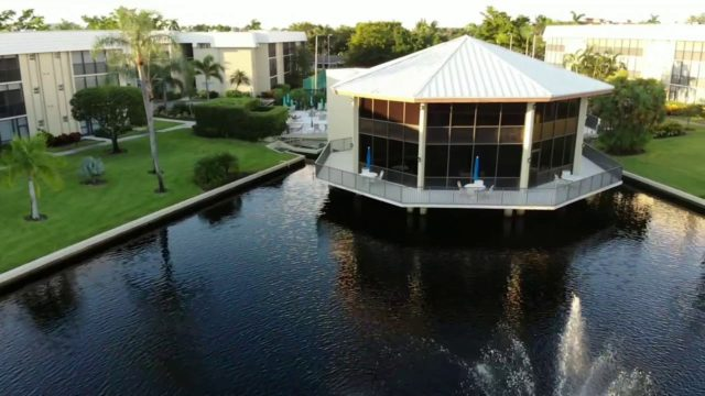 DJI Mavic Air fan *! NAPLES FLORIDA !* Hidden Lake Villas roofing in progress. Tecta America