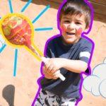 Toddler learn colors in the school garden from feride nursery rhymes