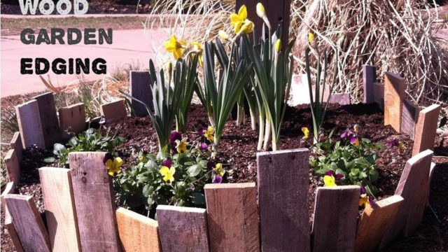How to Make a Pallet Wood Garden Fence