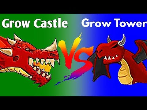 GROW CASTLE VS GROW TOWER: CASTLE DEFENDER TD…Which Is Better?