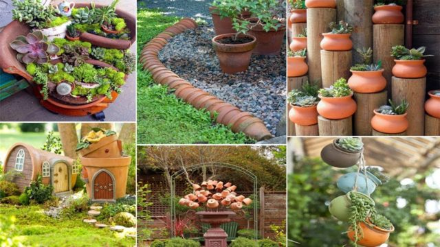 100 DIY Clay Pot Ideas for Garden | DIY Garden