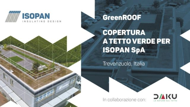 GreenROOF – Isopan – Verona