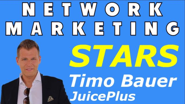 Network Marketing Testimonials: Timo Bauer von der JuicePlus Company
