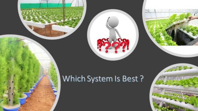 Which Hydroponic system is best for Commercial Farm?