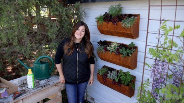 Vertical Edible Garden 🌿🌿🌿 // Garden Answer